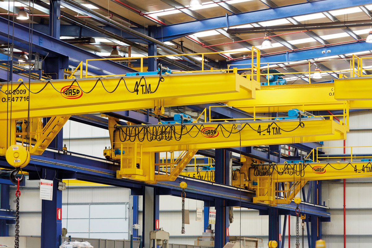JASO Industrial Cranes - Overhead cranes and hoists