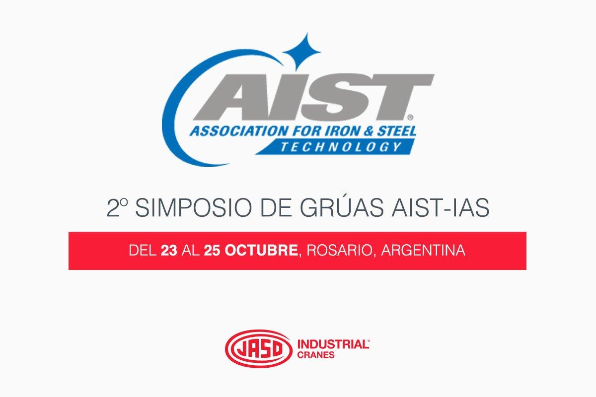 2º simposio de grúas AIST-IAS - JASO