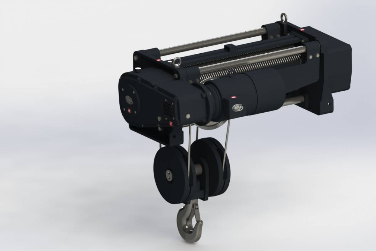 New JASO Industrial Cranes hoist product line
