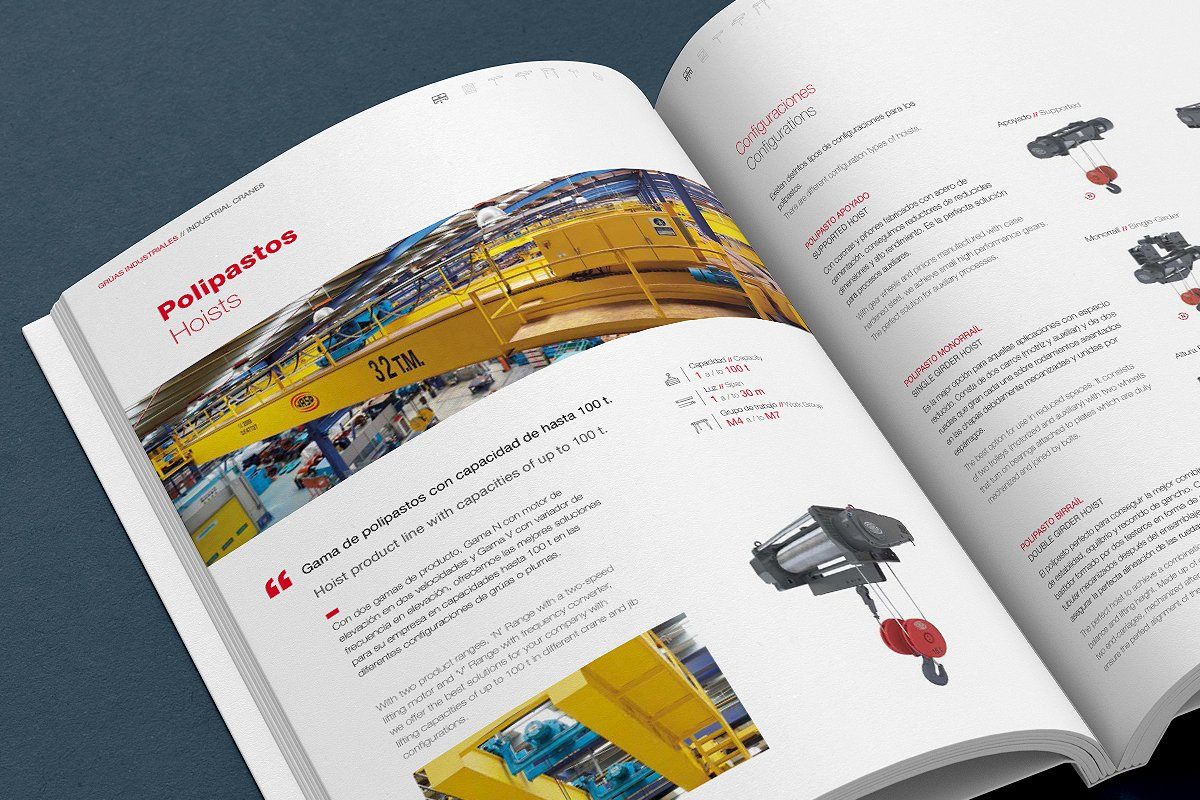 JASO Industrial Cranes catalogue