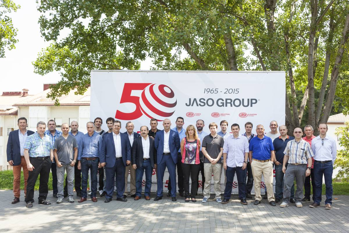 50th anniversary of the JASO GROUP
