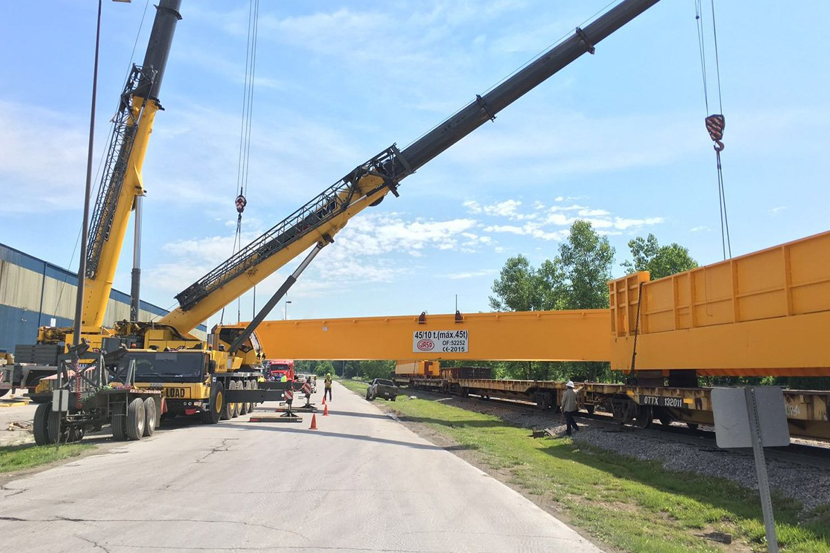 North American Stainless - JASO Industrial Cranes